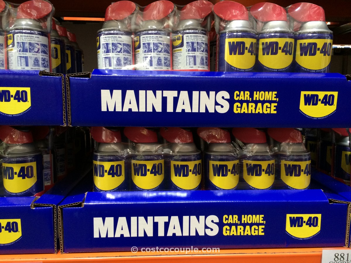 WD-40 Multi-use Lubricant 3-Pack Costco 2