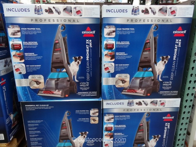 Bissell Proheat 2X Professional Pet Carpet Cleaner Costco 2