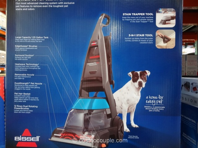 Bissell Proheat 2X Professional Pet Carpet Cleaner Costco 5