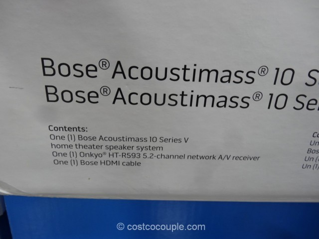 Bose Acoutimass 10 Home Theater System Costco 3