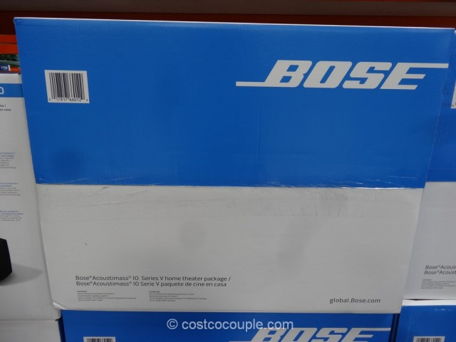 Bose Acoutimass 10 Home Theater System Costco 6