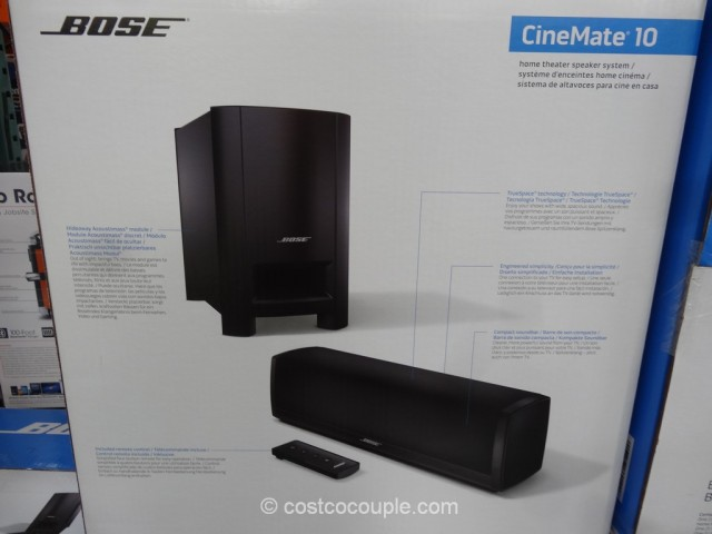 Bose Cinemate 10 Digital Home Theater System Costco 4