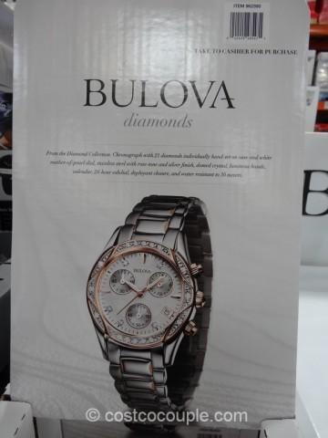 Bulova Diamond Ladies Chronograph Watch Costco 2