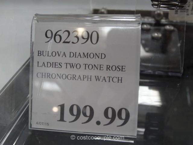 Bulova Diamond Ladies Chronograph Watch Costco 4