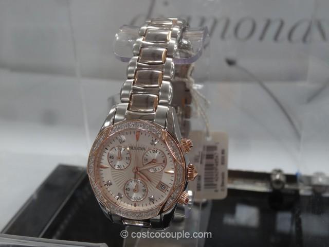 Bulova Diamond Ladies Chronograph Watch Costco 5