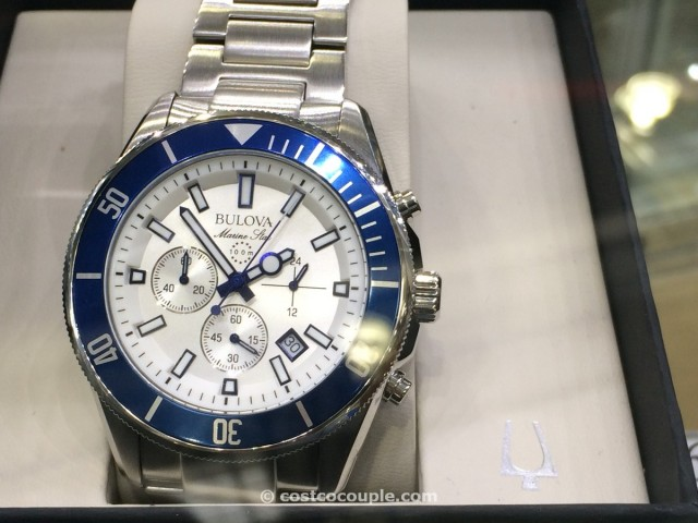 Bulova Marine Star Stainless Steel Chronograph Watch Costco 2