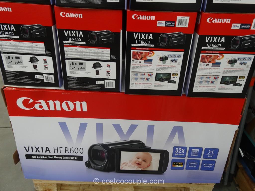 Canon Vixia HF R600 HD Camcorder Costco 2