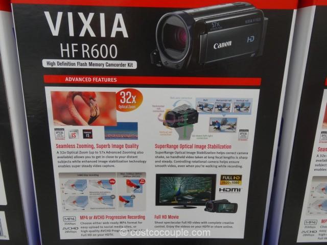 Canon Vixia HF R600 HD Camcorder Costco 3