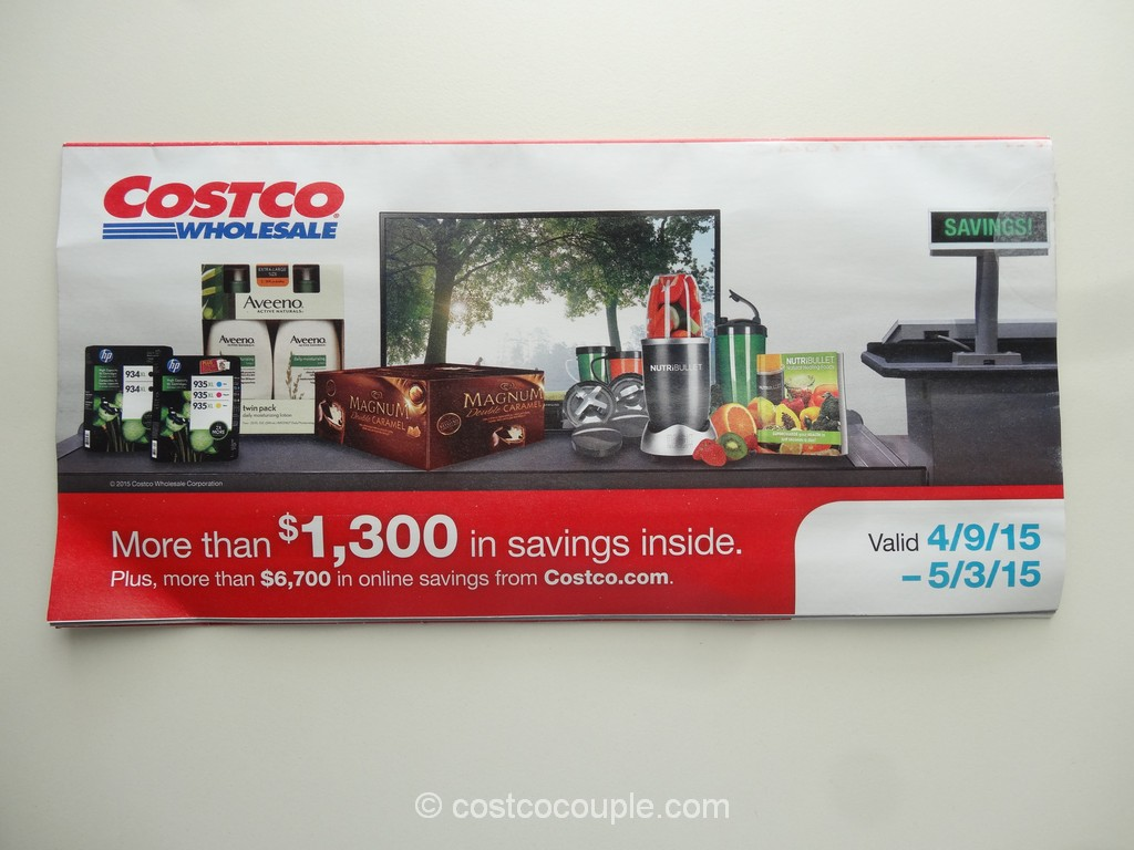 Costco April 2015 Coupon Book 1