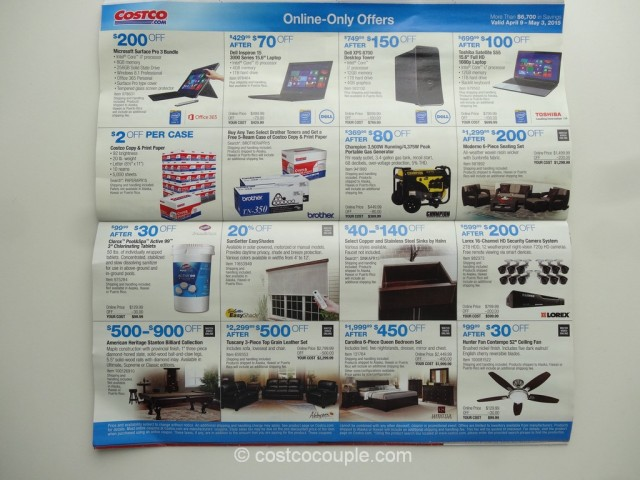 Costco April 2015 Coupon Book 10