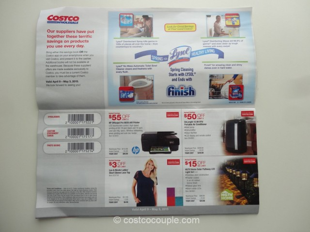 Costco April 2015 Coupon Book 2