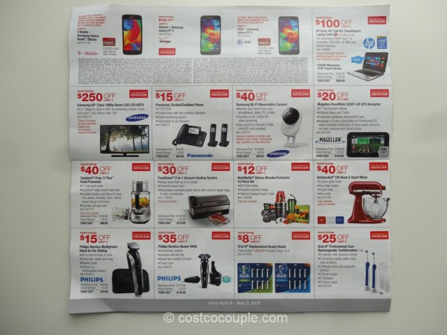 Costco April 2015 Coupon Book 3