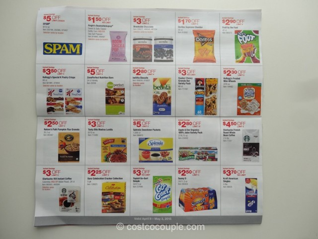 Costco April 2015 Coupon Book 4
