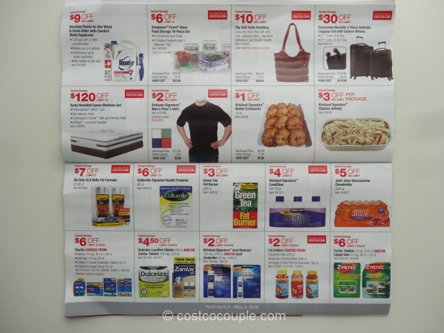 Costco April 2015 Coupon Book 8