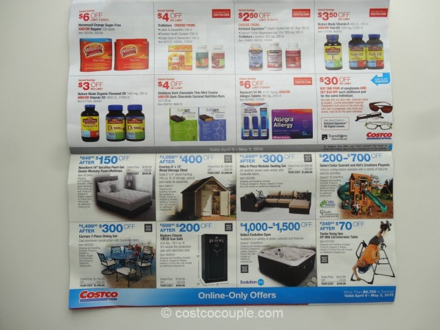 Costco April 2015 Coupon Book 9