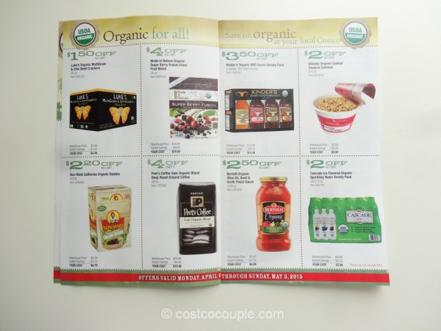Costco April2015 Organic Instant Savings 3
