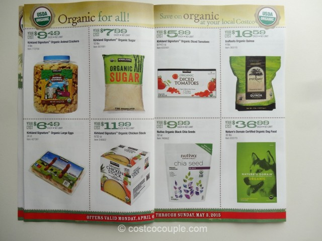 Costco April2015 Organic Instant Savings 5