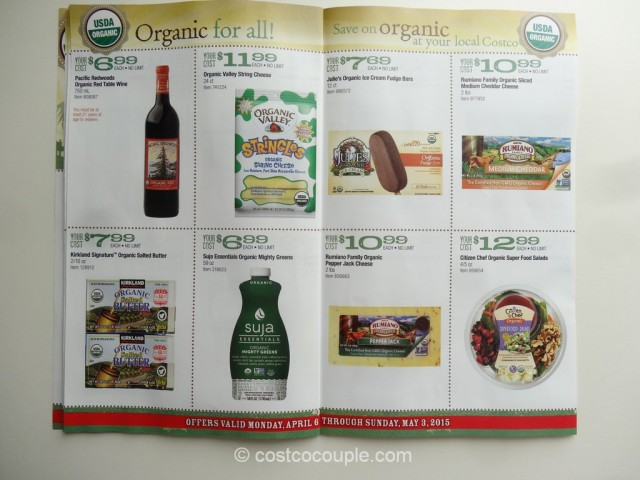 Costco April2015 Organic Instant Savings 6