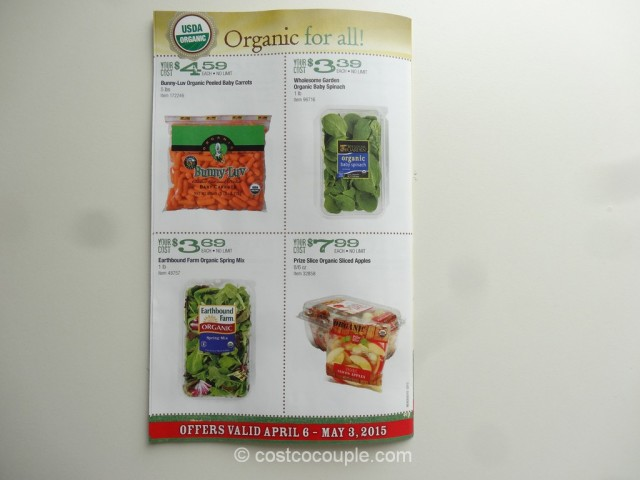 Costco April2015 Organic Instant Savings 7