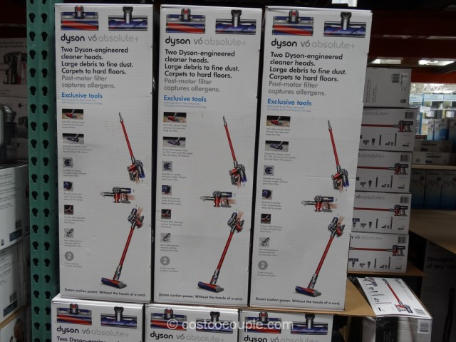 Dyson V6 Absolute+ Cordless Vacuum Costco 1