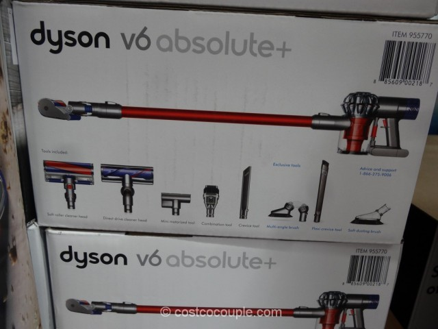 Dyson V6 Absolute+ Cordless Vacuum Costco 3