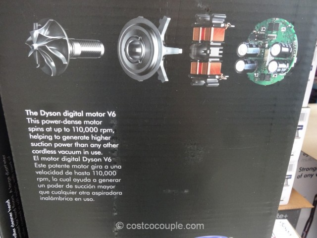 Dyson V6 Absolute+ Cordless Vacuum Costco 8