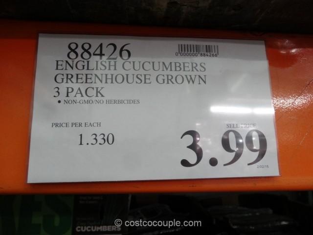 English Cucumbers Costco 1