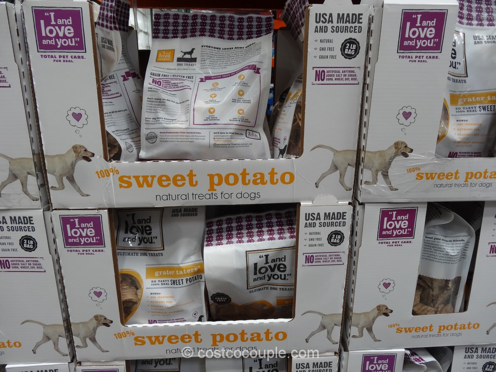 I And Love And You Sweet Potato Dog Treat Costco 2