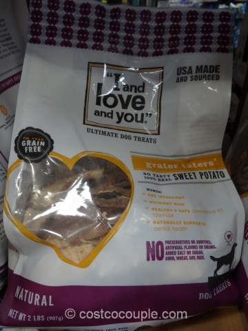 I And Love And You Sweet Potato Dog Treat Costco 5