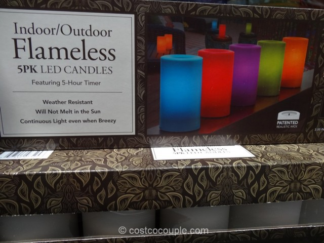 Indoor Outdoor Flameless Led Candles