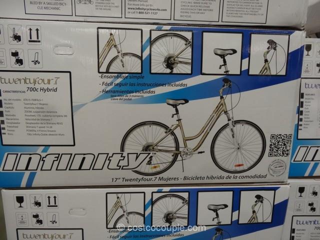 Infinity Ladies TwentyFour 7 Hybrid Bike Costco 2