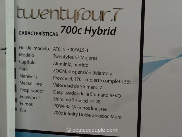 Infinity Ladies TwentyFour 7 Hybrid Bike Costco 3