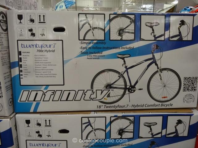 Infinity Mens TwentyFour 7 Hybrid Bike Costco 3