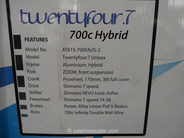 Infinity Mens TwentyFour 7 Hybrid Bike Costco 4