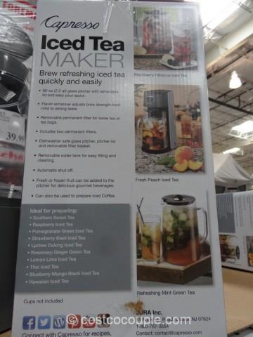 Jura Capresso Ice Tea Maker Costco 2