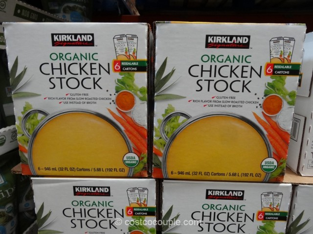 Kirkland Signature Organic Chicken Stock