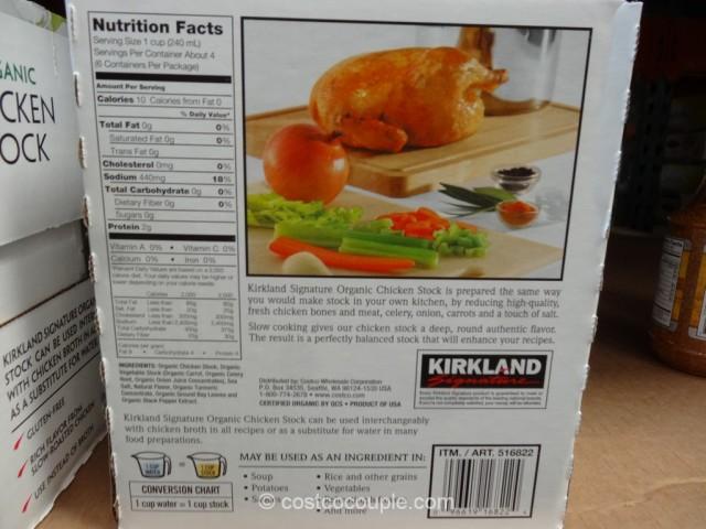 Kirkland Signature Organic Chicken Stock Costco 2