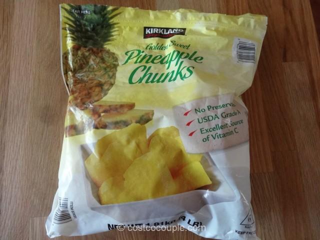 Kirkland Signature Pineapple Chunks Costco 2
