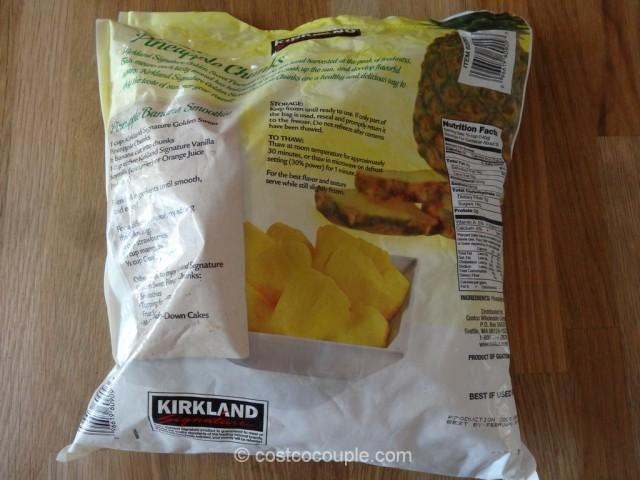 Kirkland Signature Pineapple Chunks Costco 3