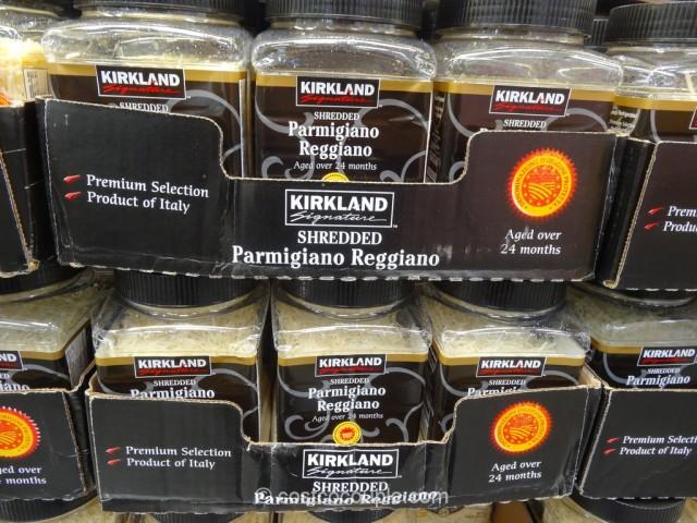 Kirkland Signature Shredded Parmigiano Reggiano Costco 1