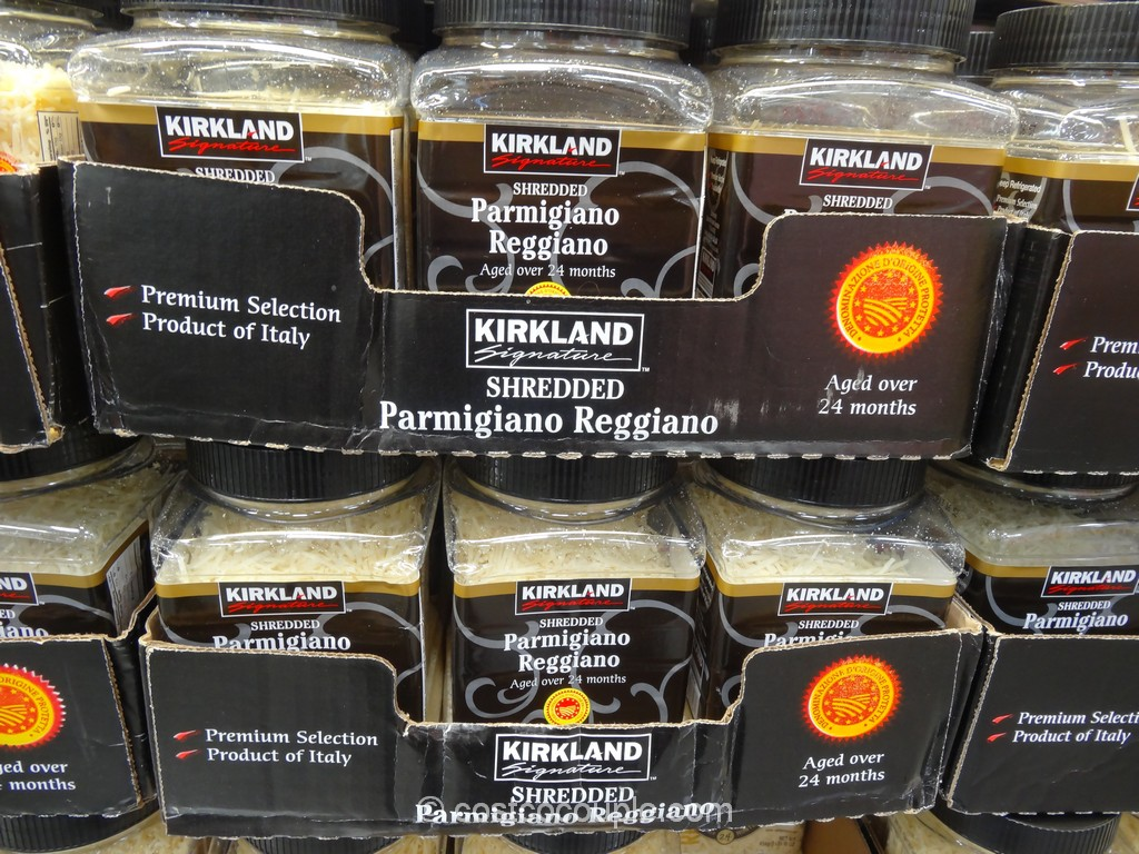 Kirkland Signature Shredded Parmigiano Reggiano Costco 1