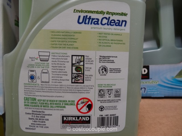 Kirkland Signature Ultra Clean Laundry Detergent