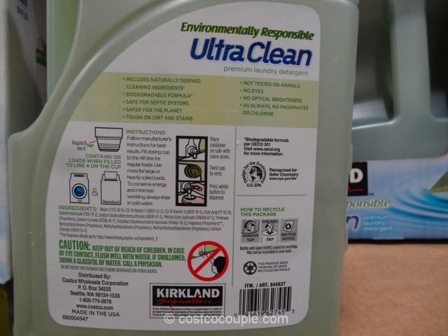 Kirkland Signature Ultra Clean Laundry Detergent