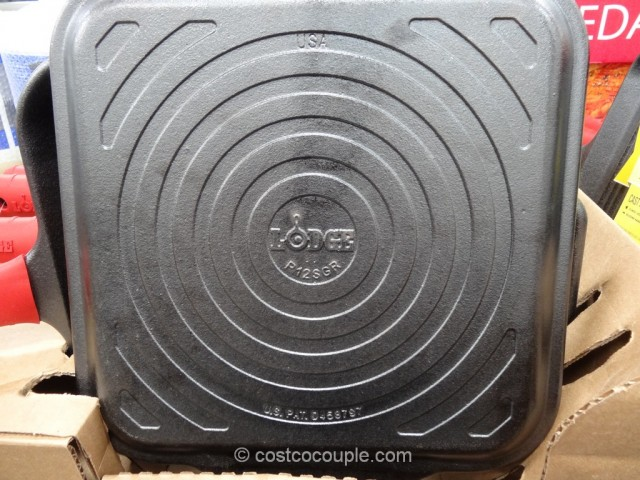Lodge Cast Iron Grill Pan Costco 2