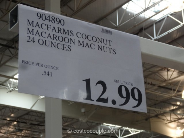 MacFarms Coconut Macaroon Macadamia Nuts Costco 1