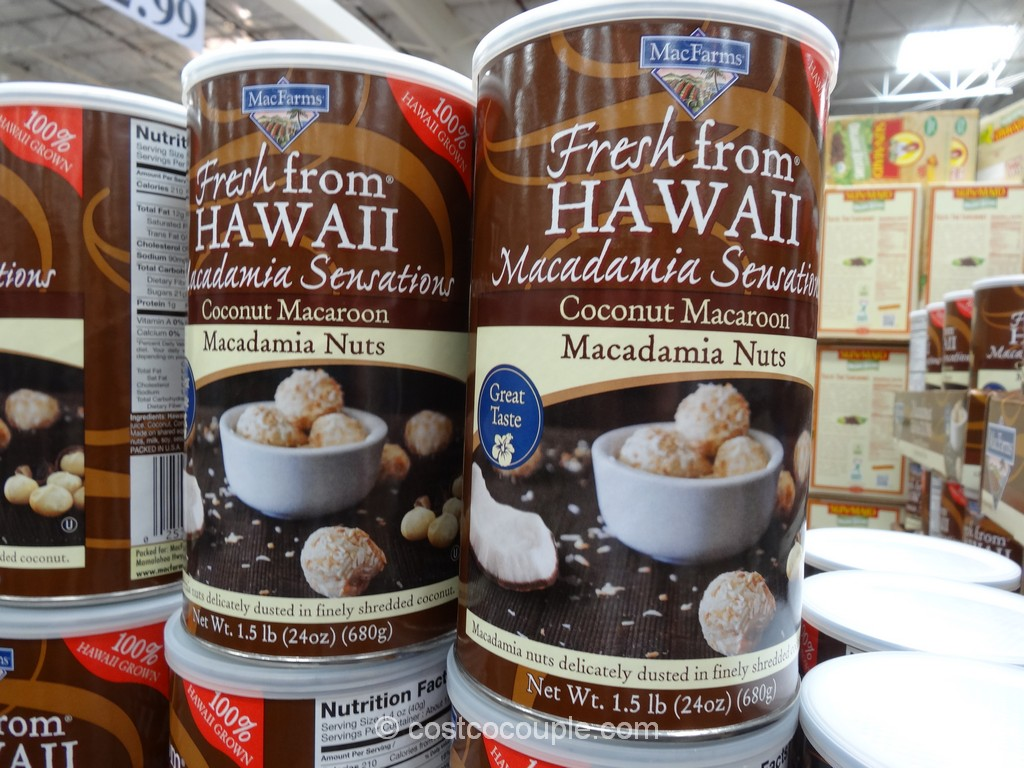 MacFarms Coconut Macaroon Macadamia Nuts Costco 4