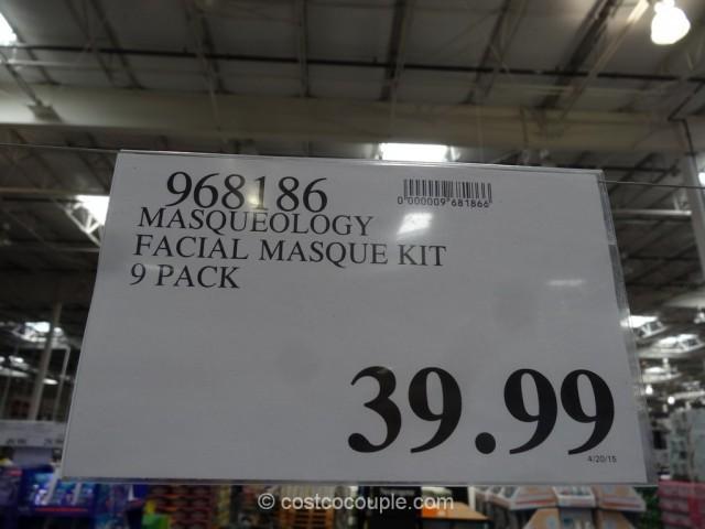 Masqueology Facial Masque Kit Costco 1