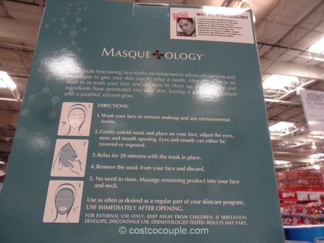 Masqueology Facial Masque Kit Costco 3