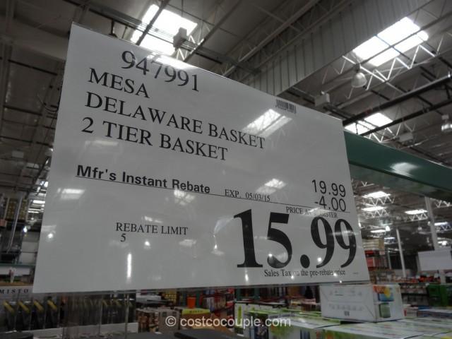 Mesa Delaware Basket Costco 1