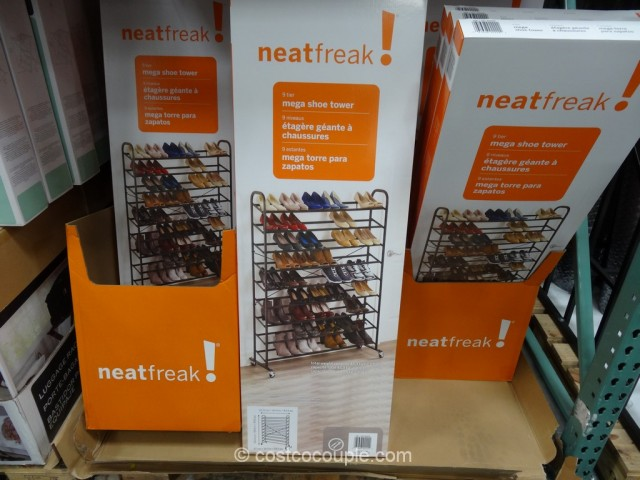 Neat Freak Mega Shoe Tower Costco 4